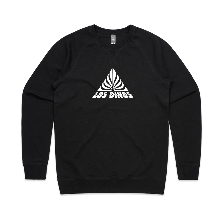 Triangle / Black Crew Sweater