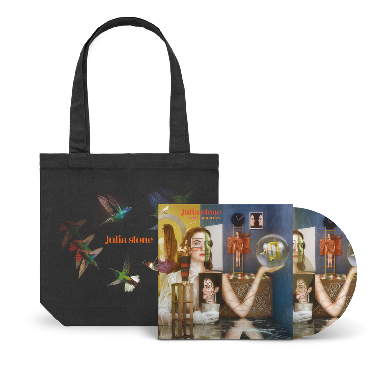 Julia Stone / Sixty Summers Deluxe Picture Vinyl LP + Tote