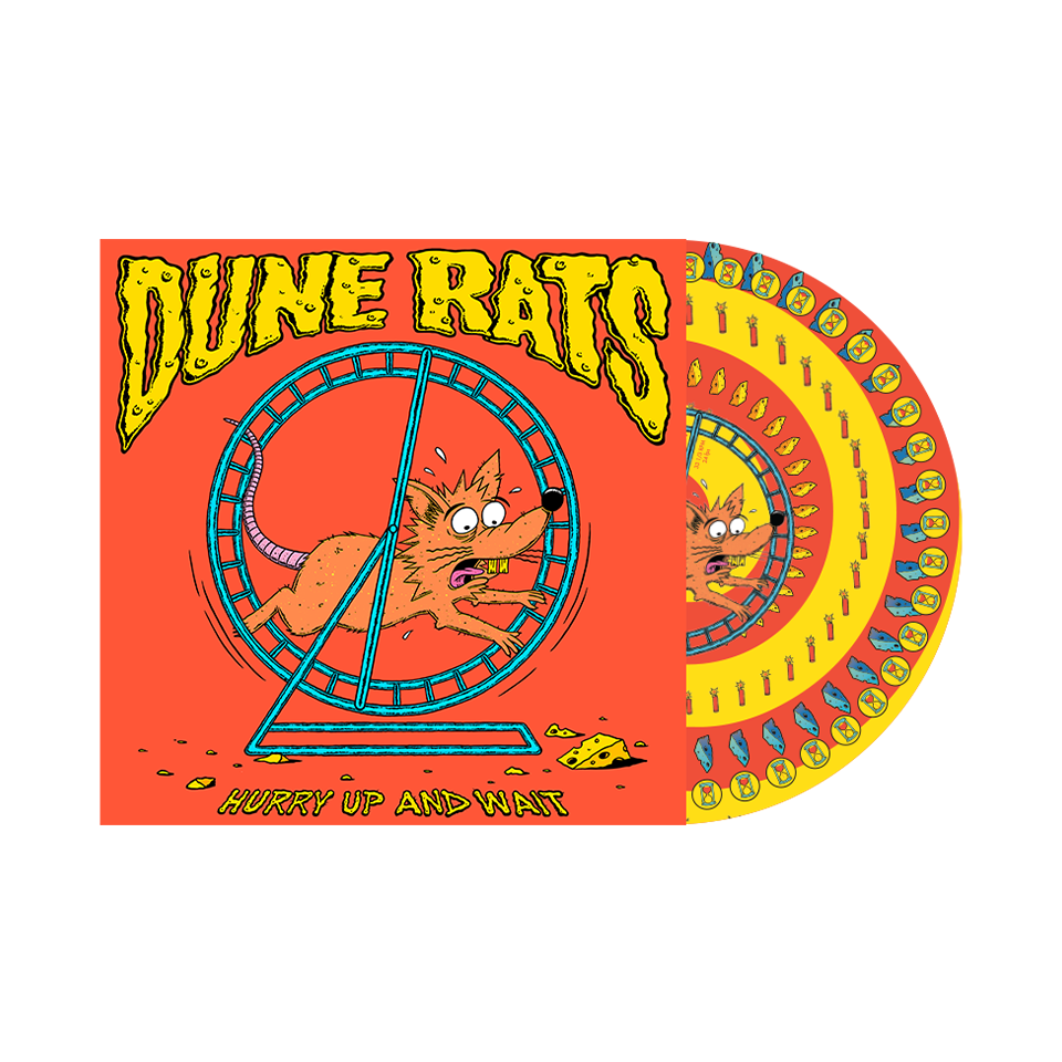 'Hurry Up And Wait' / Picture Vinyl + T-shirt Bundle  ***Pre-order***