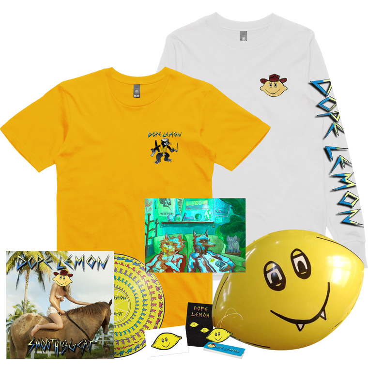 Yellow Wild Cat / LP Bundle