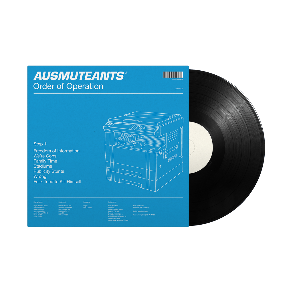 "Ausmuteants / Order Of Operation 12"" Vinyl"