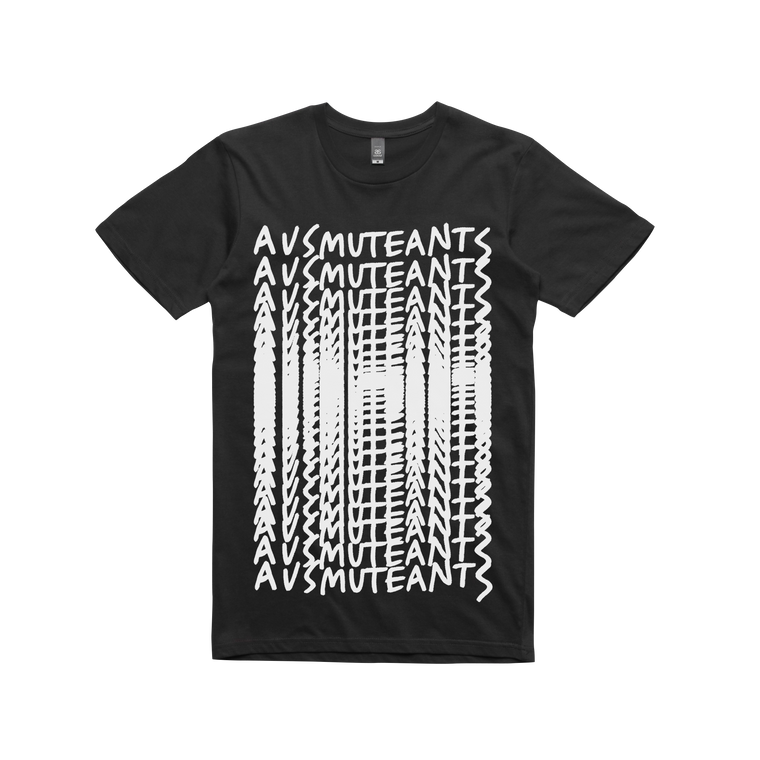 Ausmuteants Repeat  / Black T-shirt