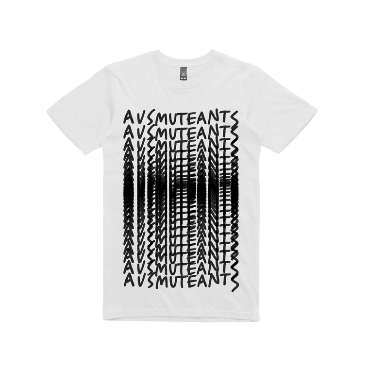 Ausmuteants Repeat  / White T-shirt