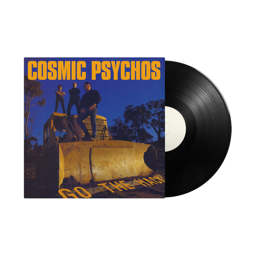 "Cosmic Psychos / Go The Hack 12"" Vinyl"