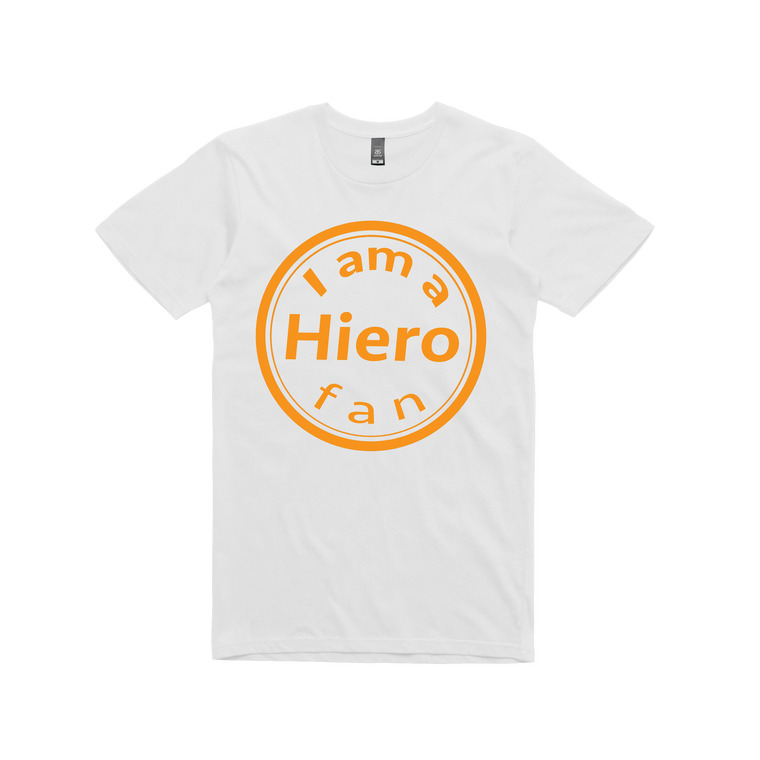 Hierophants - Hiero-Fan / White T-shirt