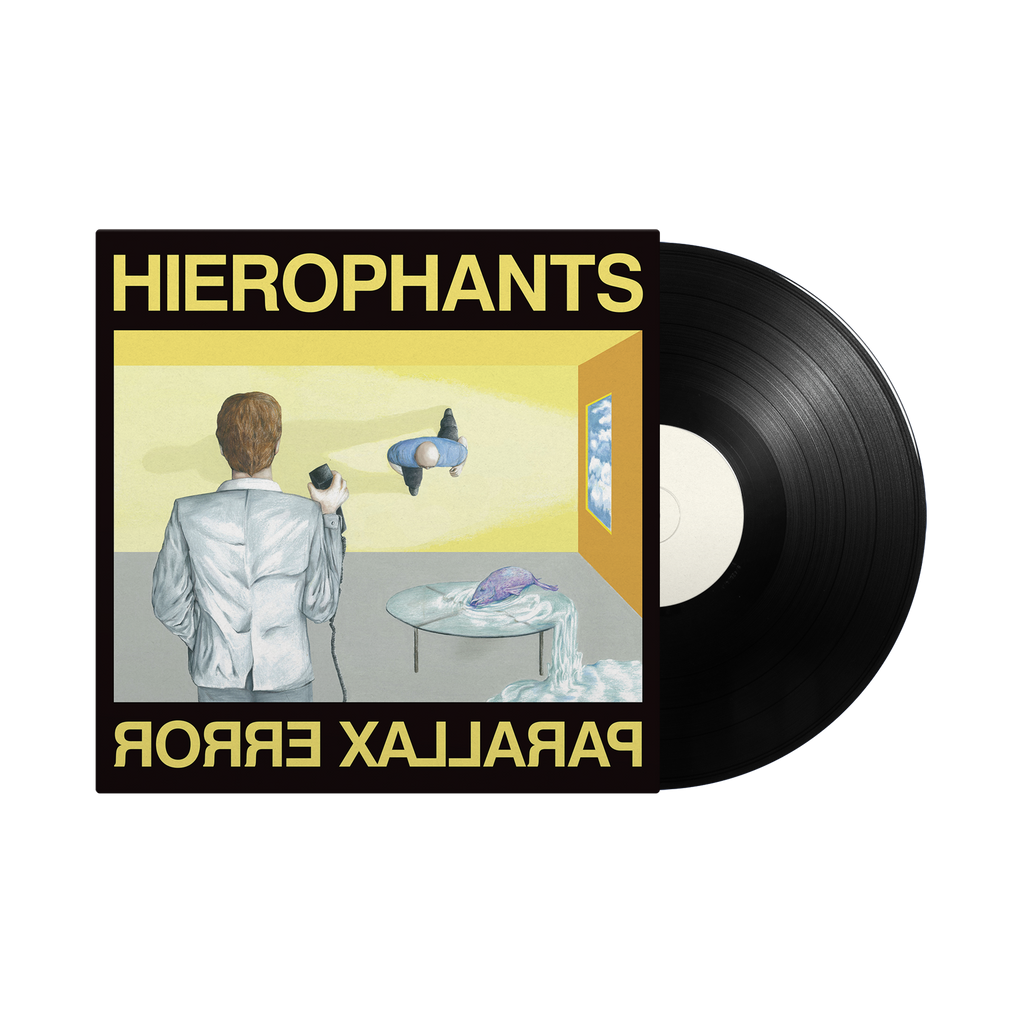 "Heirophants / Parallax Error 12"" Vinyl"