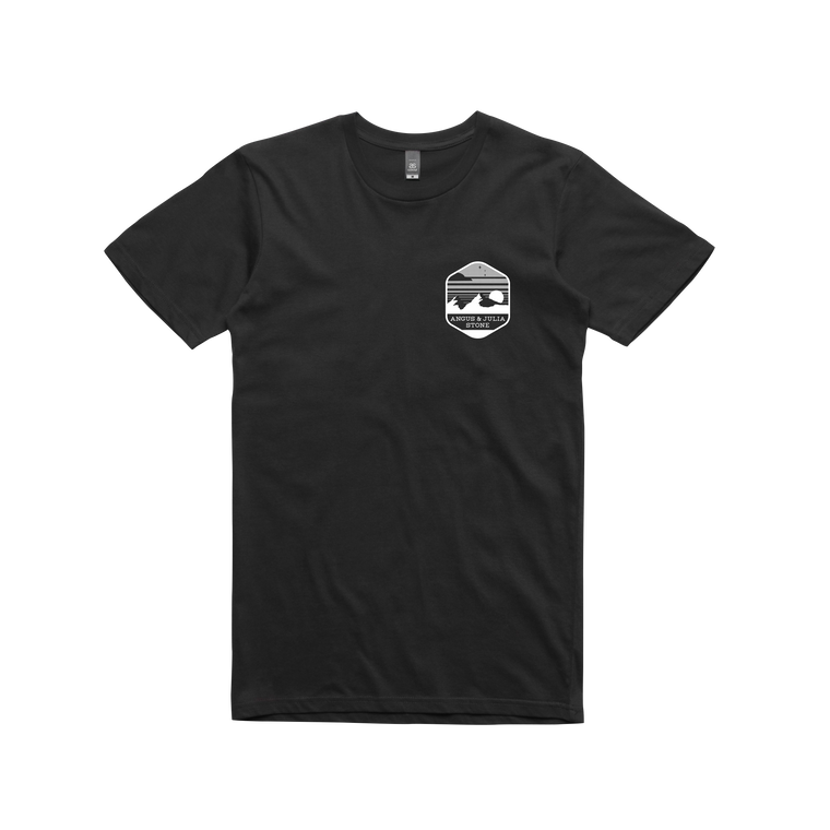 Black Mountain / Black T-shirt