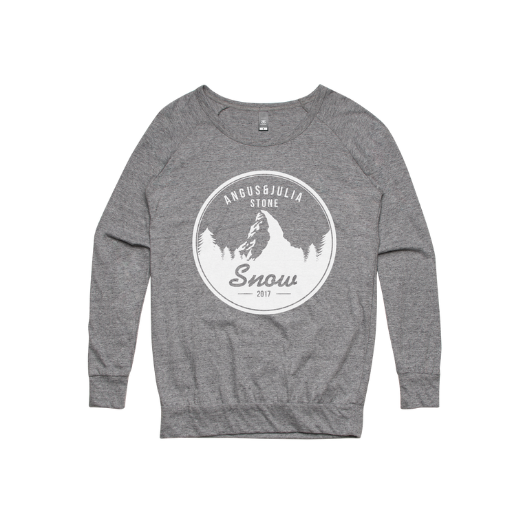 Snow Mountain / Womens Longsleeve T-shirt
