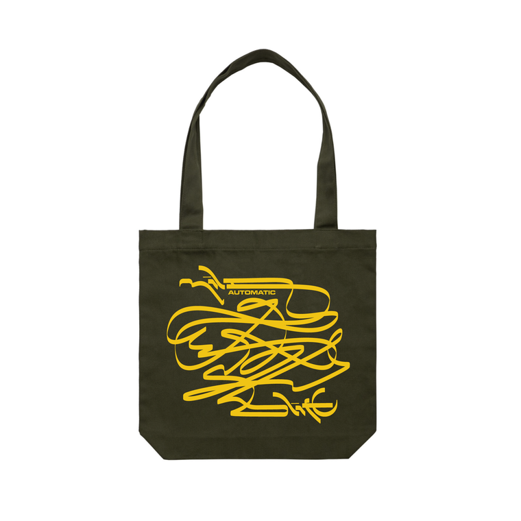 Automatic / Army Tote Bag