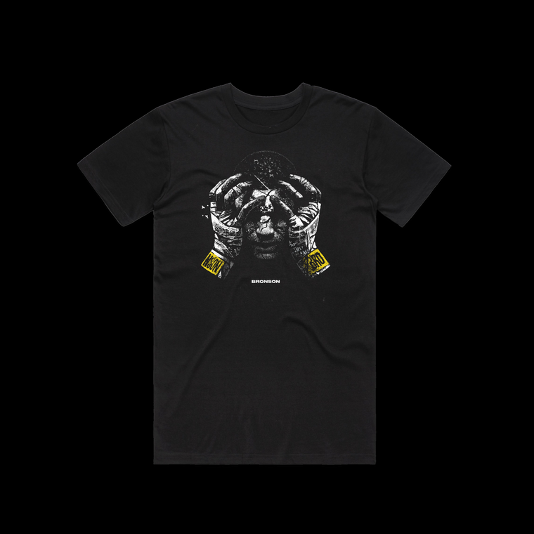 BRONSON Artwork T-Shirt / Black