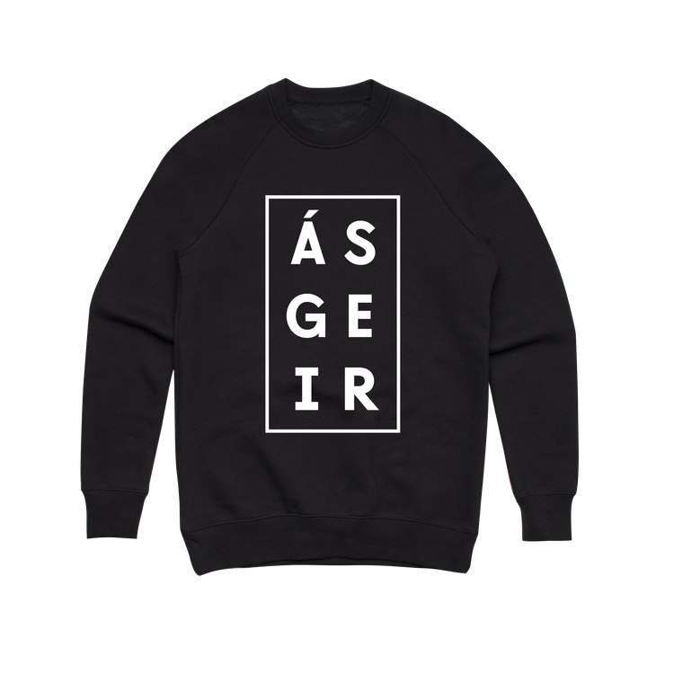 Afterglow / Black Crew Sweater