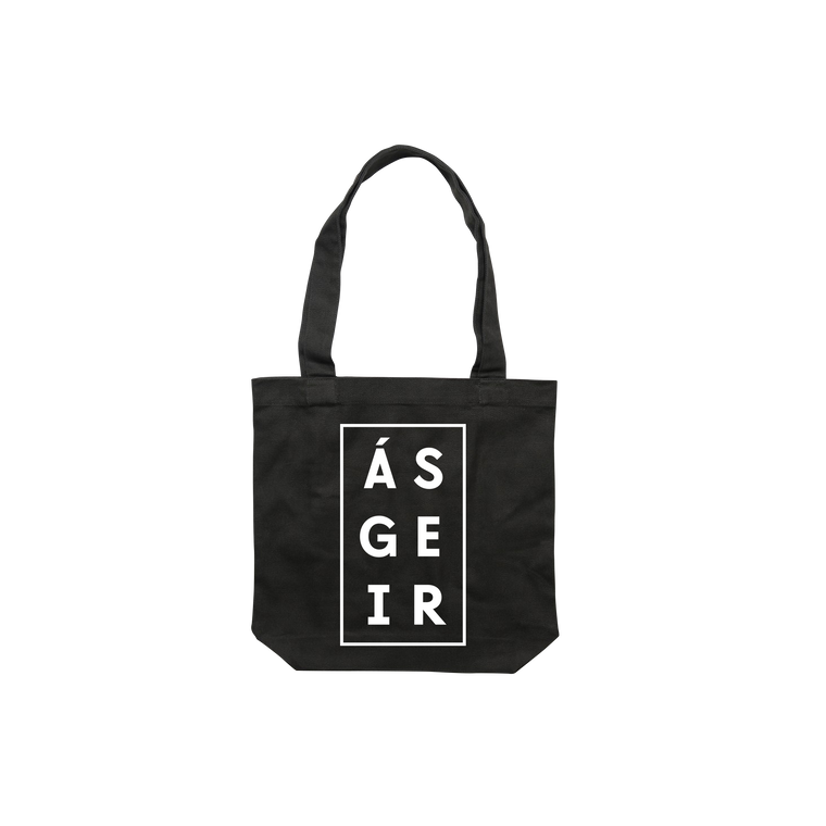 Afterglow / Black Tote Bag
