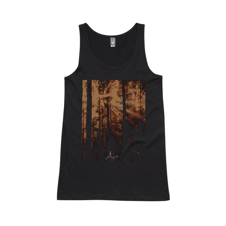 Tree Film / Black Women's Singlet