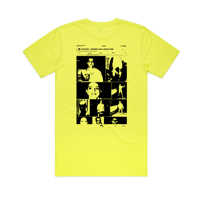 It's Britney T-Shirt / Fluro Yellow