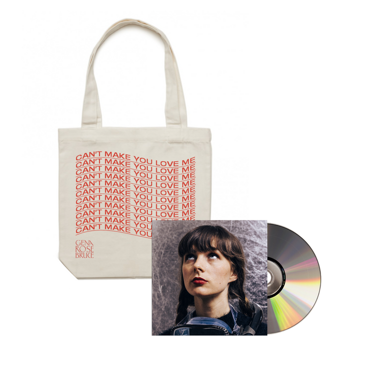 'Can't Make You Love Me' CD + Tote Bundle