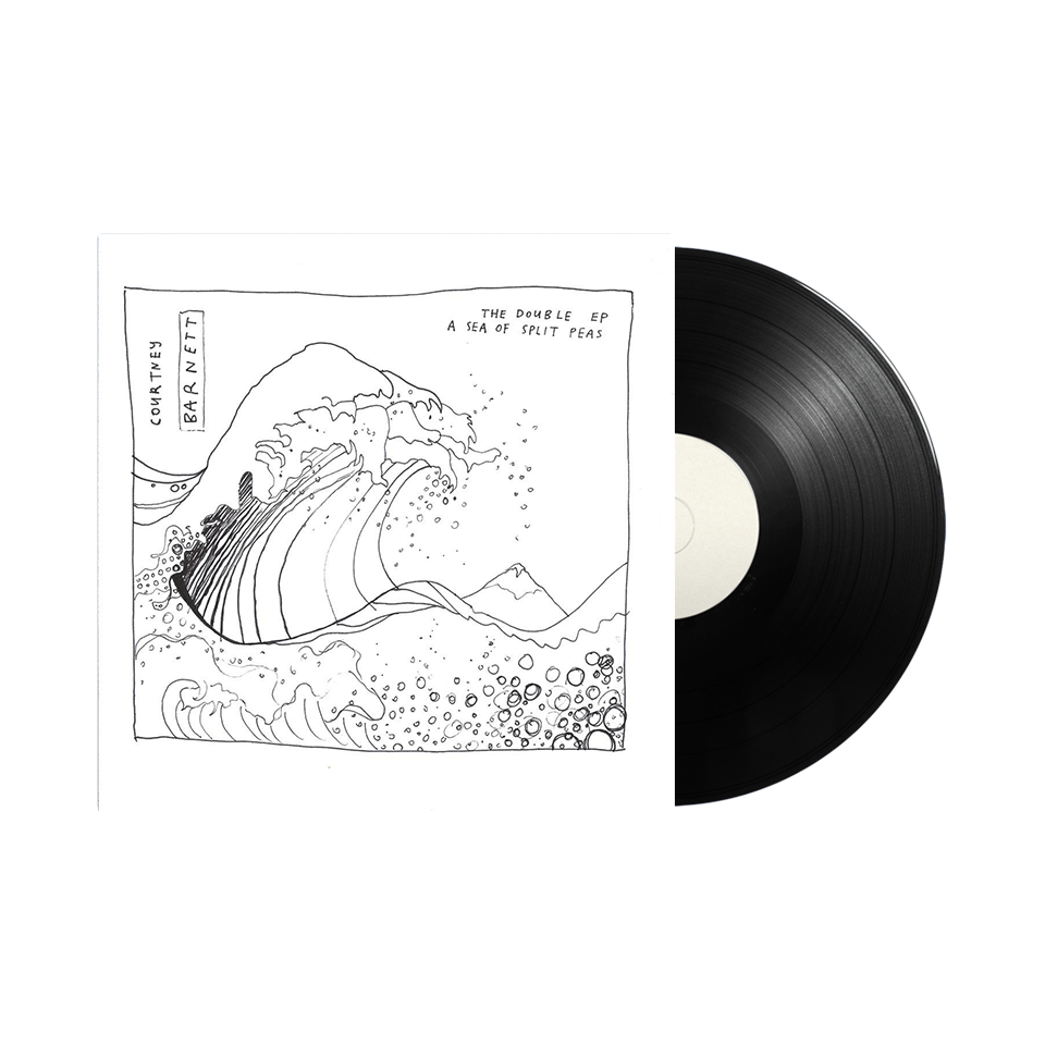 "Courtney Barnett / The Double EP: A Sea of Split Peas 12"" Vinyl"