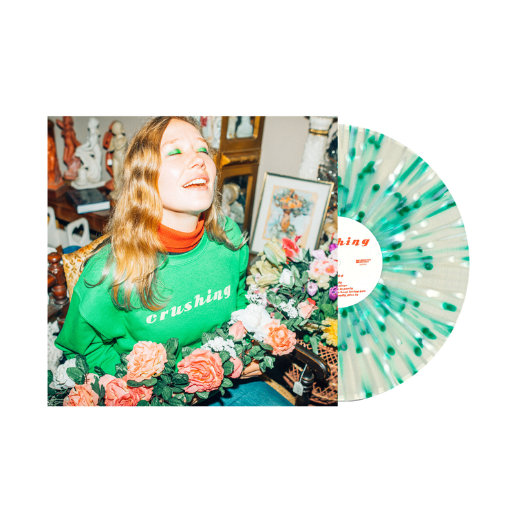 Crushing / Green White Splatter Vinyl LP