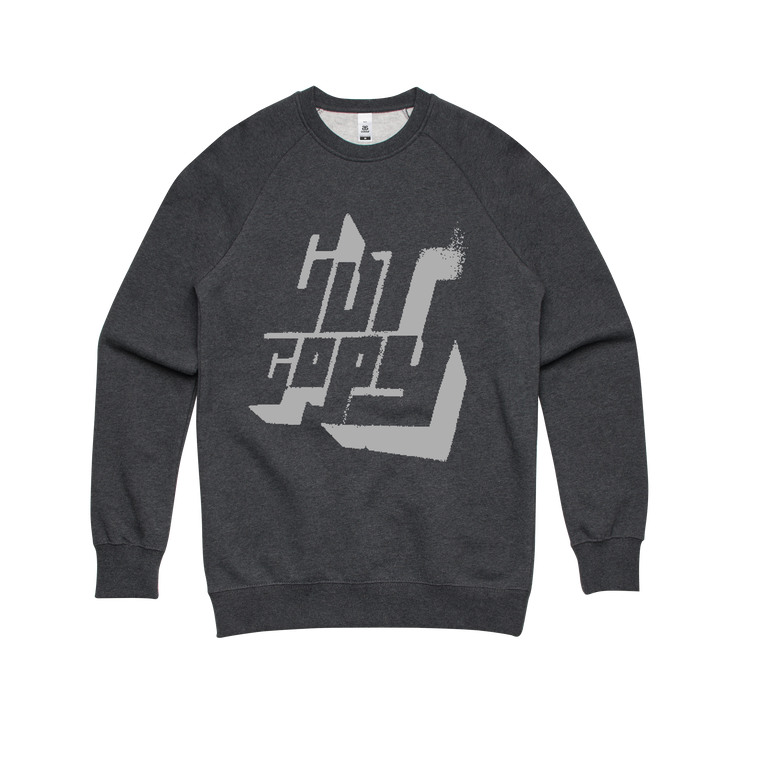 Vintage logo / charcoal sweater