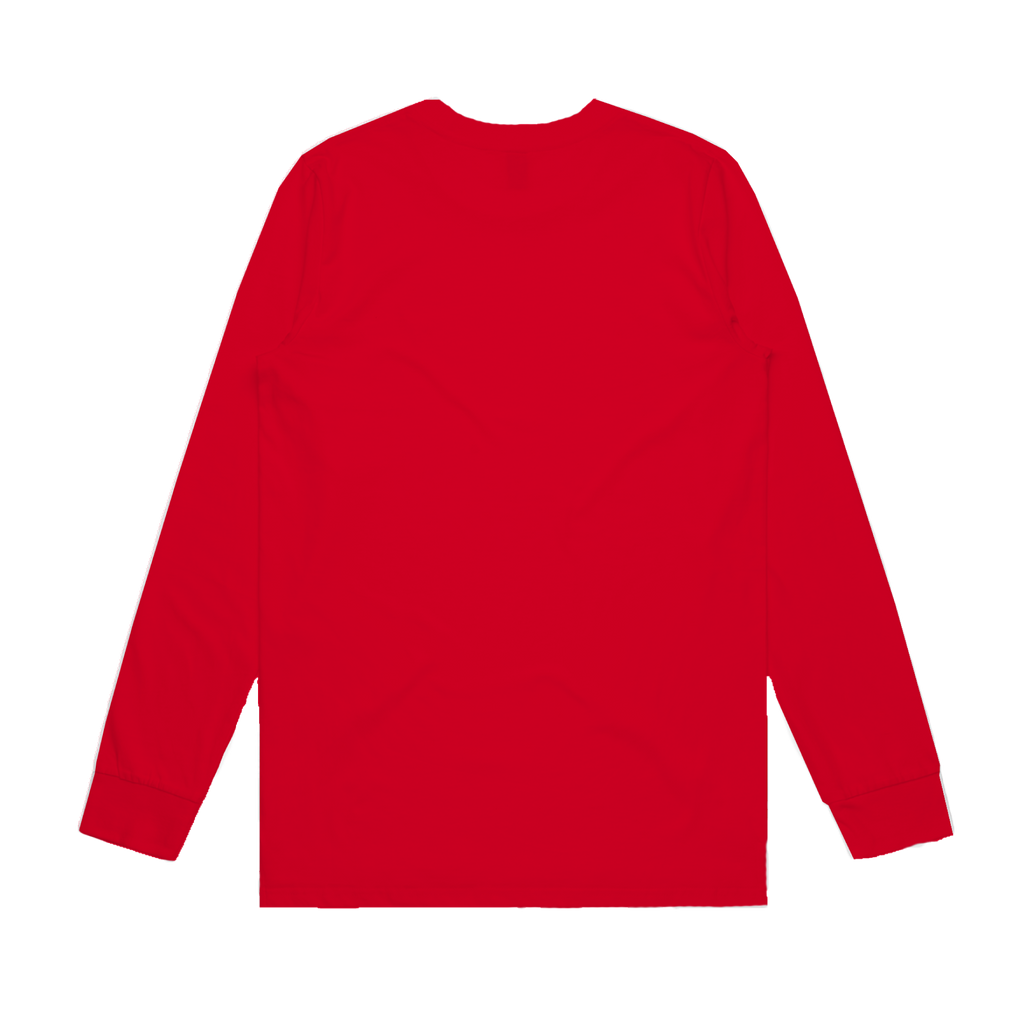 Darcy Justice / Red Long Sleeve T-shirt