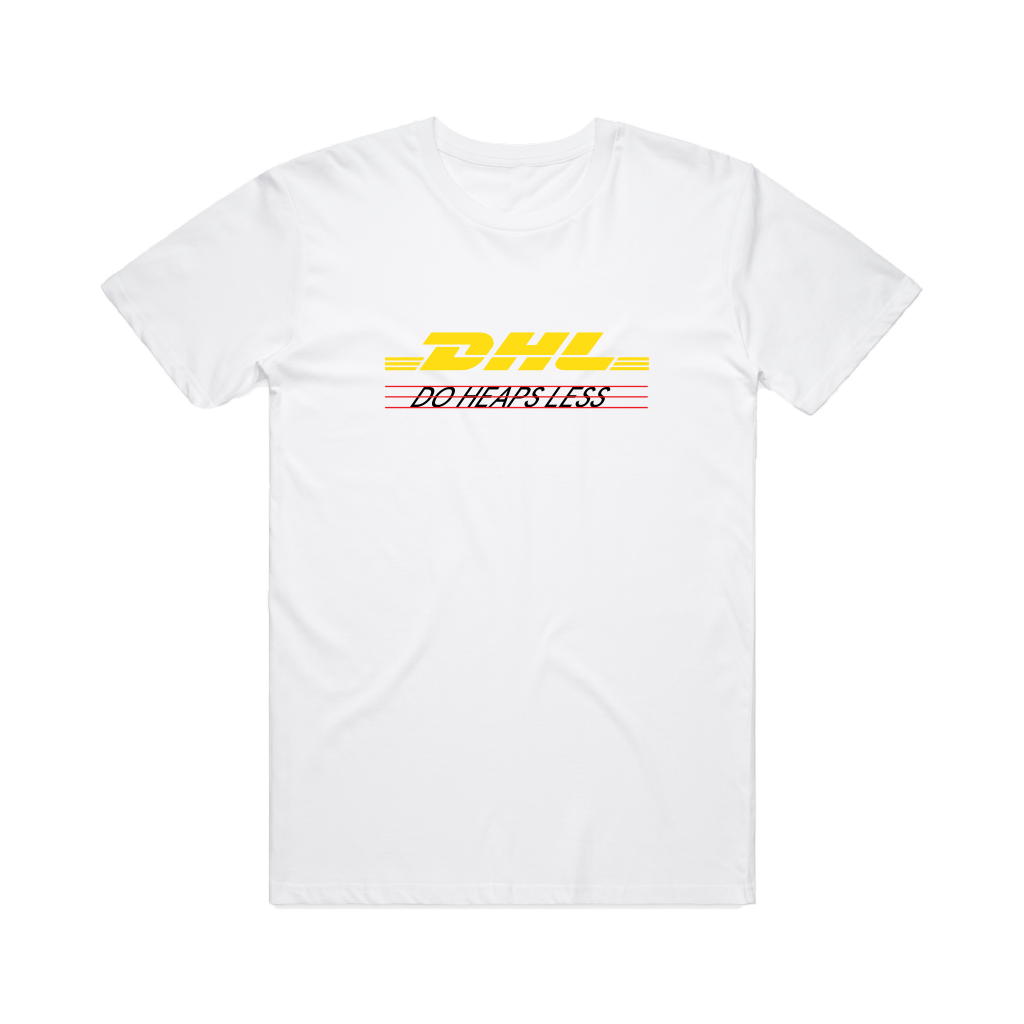 Do Heaps Less / White T-shirt