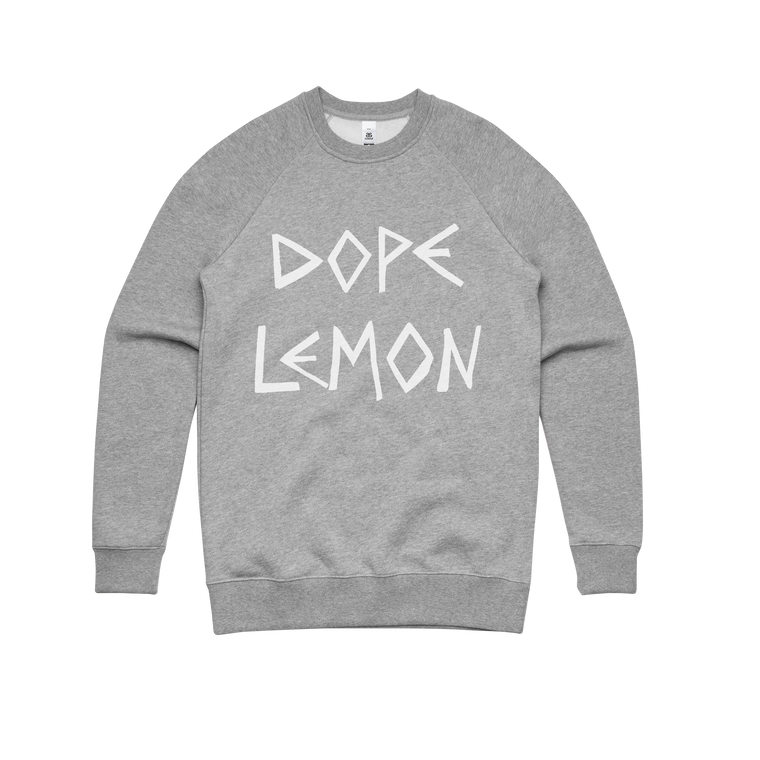 Dope Logo / Grey Sweater