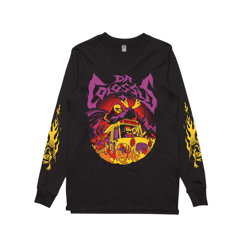 LIMITED EDITION Holy Driver / Longsleeve Black