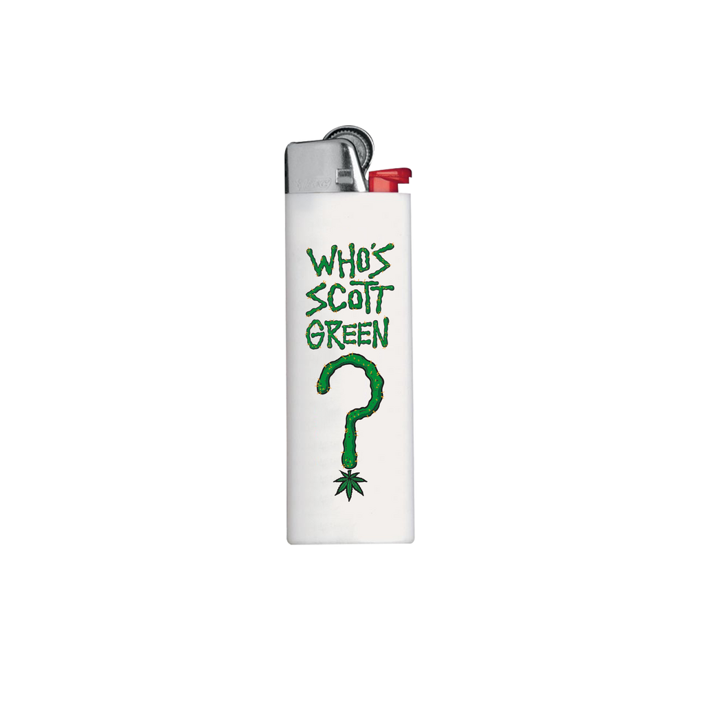 Who's Scott Green? / White BIC Lighter (only at shows!)