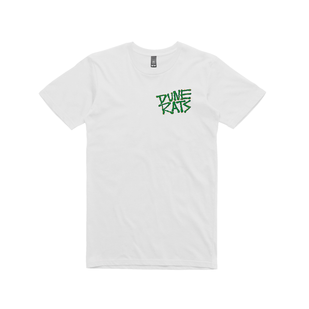 Dune Rats Who S Scott Green White T Shirt Sound Merch