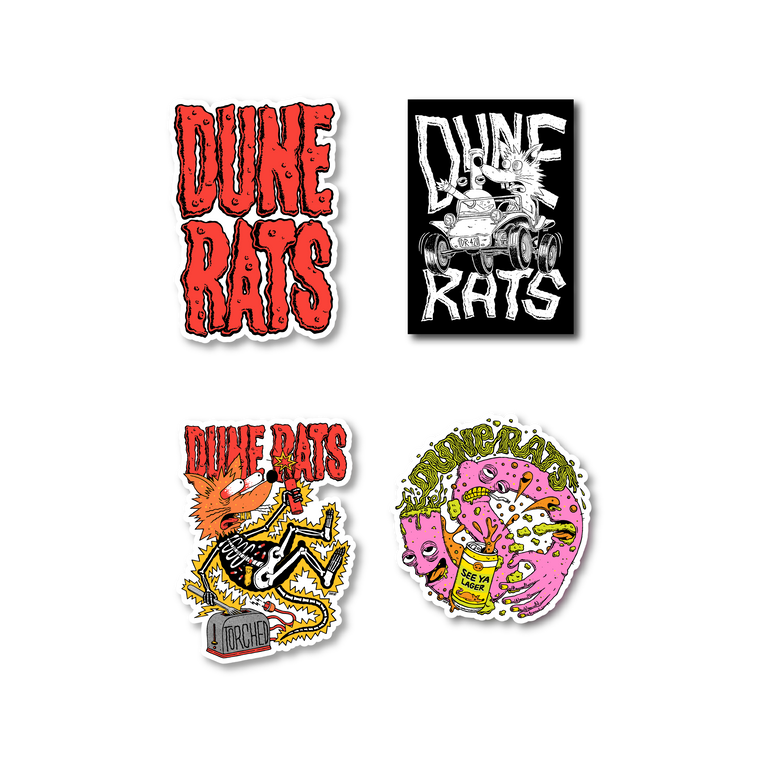 Dune Rats / Sticker Pack