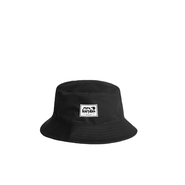 Evesential Apparel / Black Bucket Hat