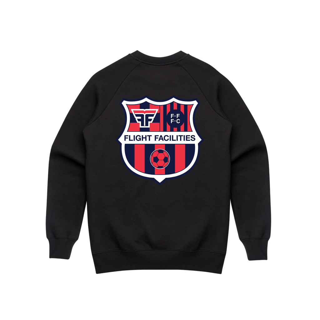 FFFC / Crew Sweater Black