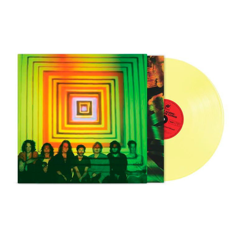 Float Along - Fill Your Lungs / LP Vinyl (Easter Yellow Vinyl)