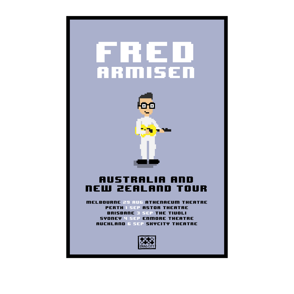 Fred Armisen AUS & NZ 2019 Tour / A2 Poster