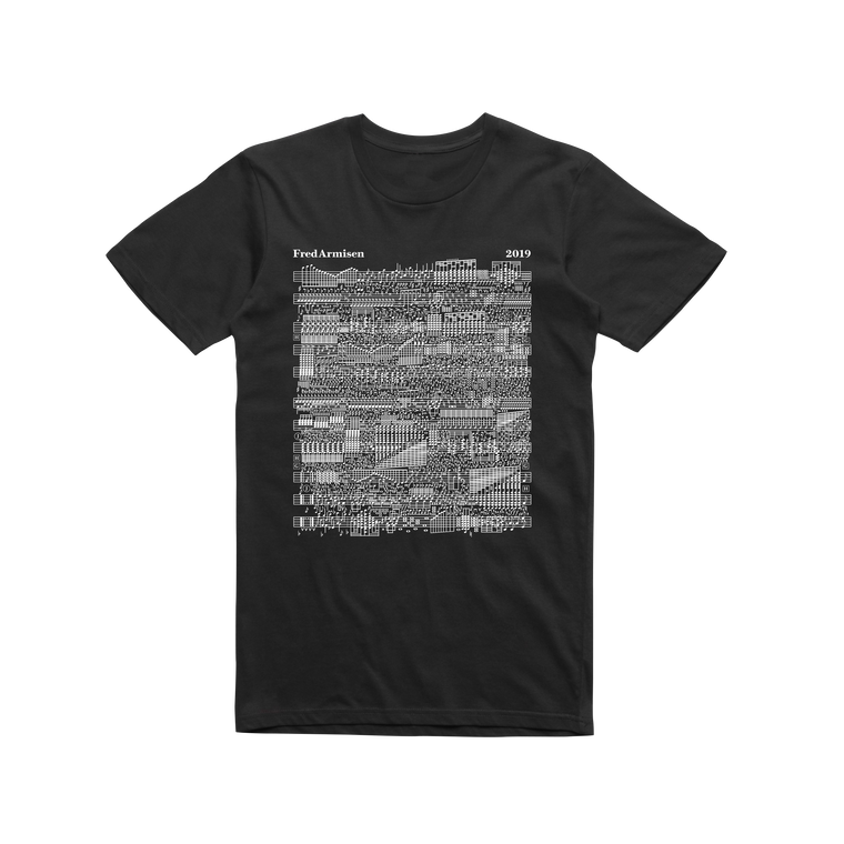 Music Notes / Black T-shirt