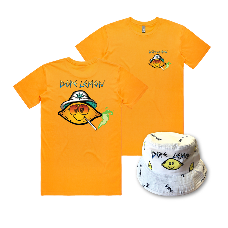 Fear and Loathing Tee / Bucket Hat Bundle