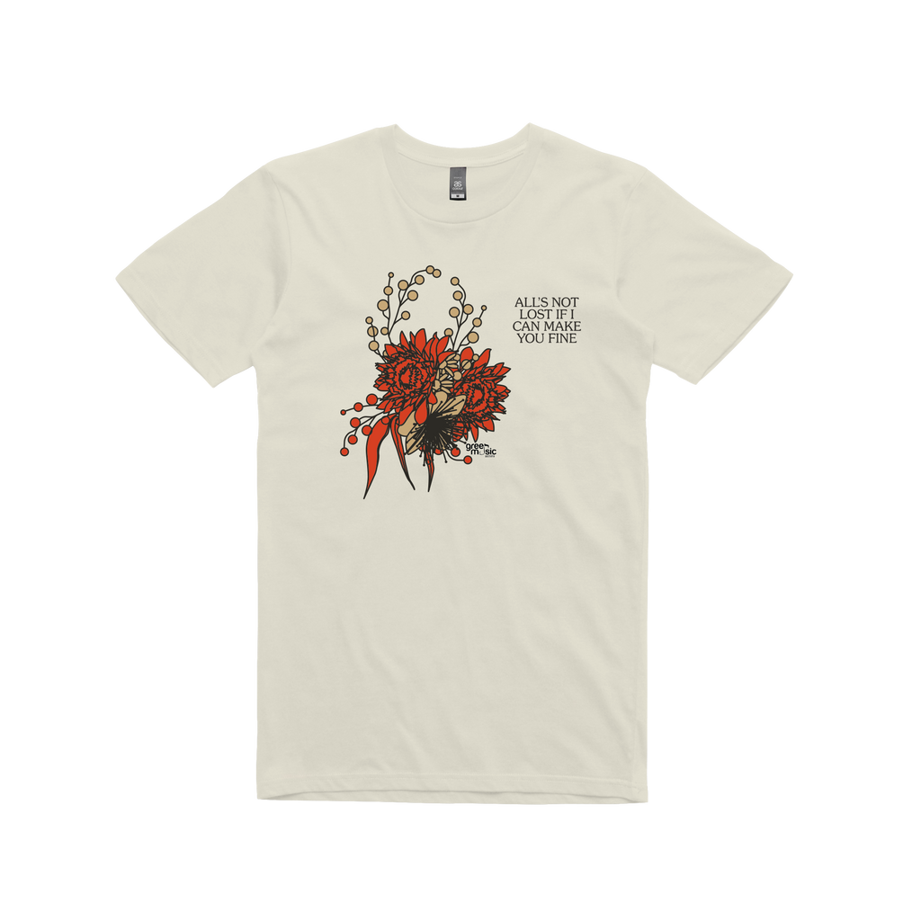 Heal You In Time / Cream  T-shirt