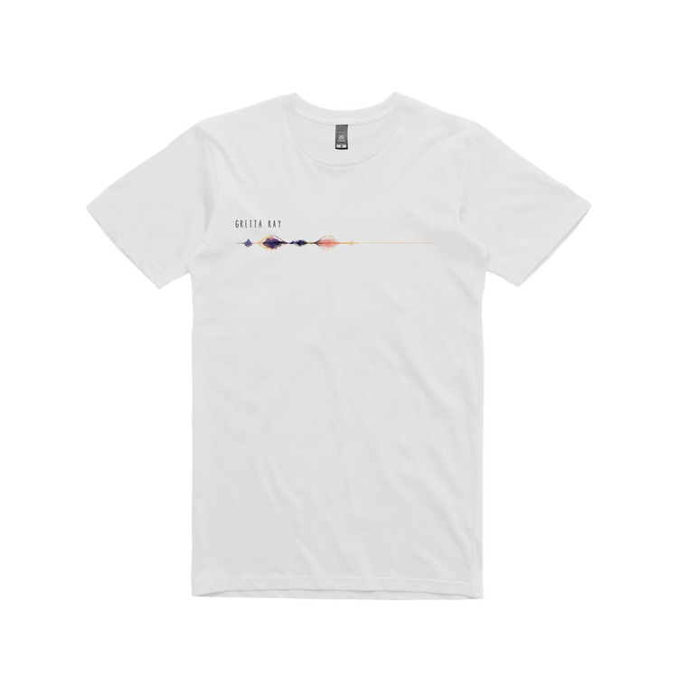 Radio Silence / White T-shirt