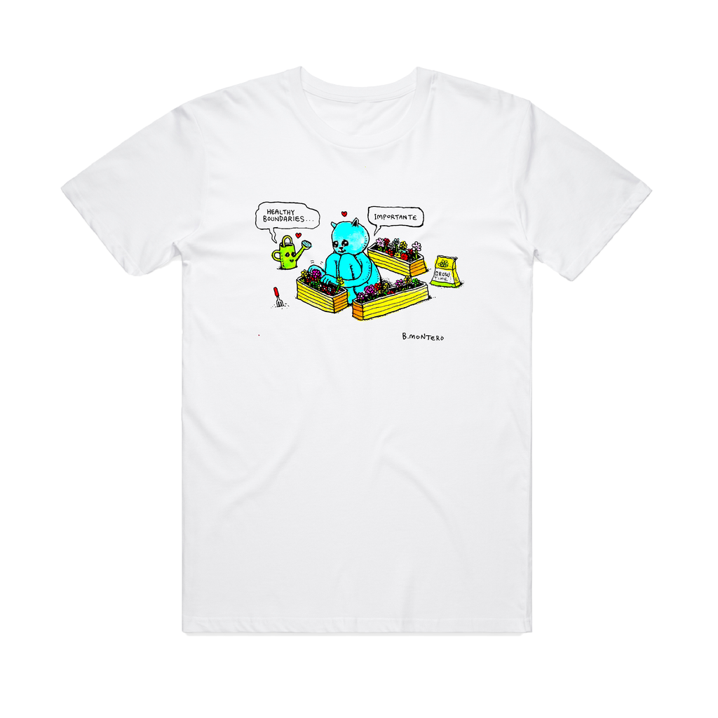 Healthy Boundaries / White T-shirt