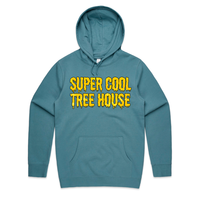 Super Cool Tree House / Slate Blue Hoodie