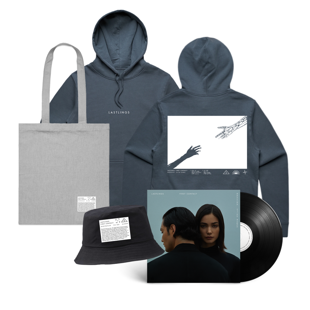 Lastlings / First Contact Hood & Vinyl & Hat & Tote Bundle ***PRE-ORDER***