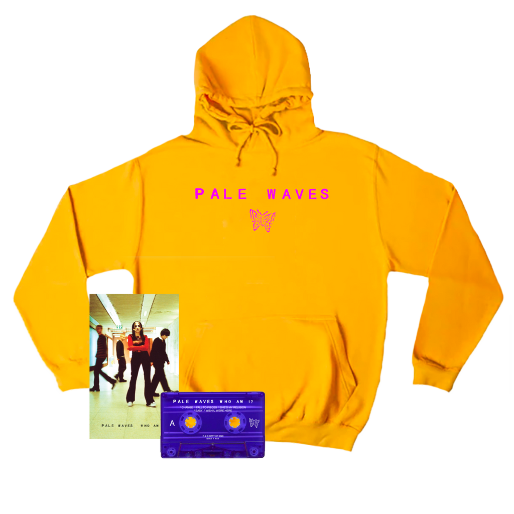 Pale Waves / Logo Gold Hood + Cassette Tape ***PRE-ORDER***