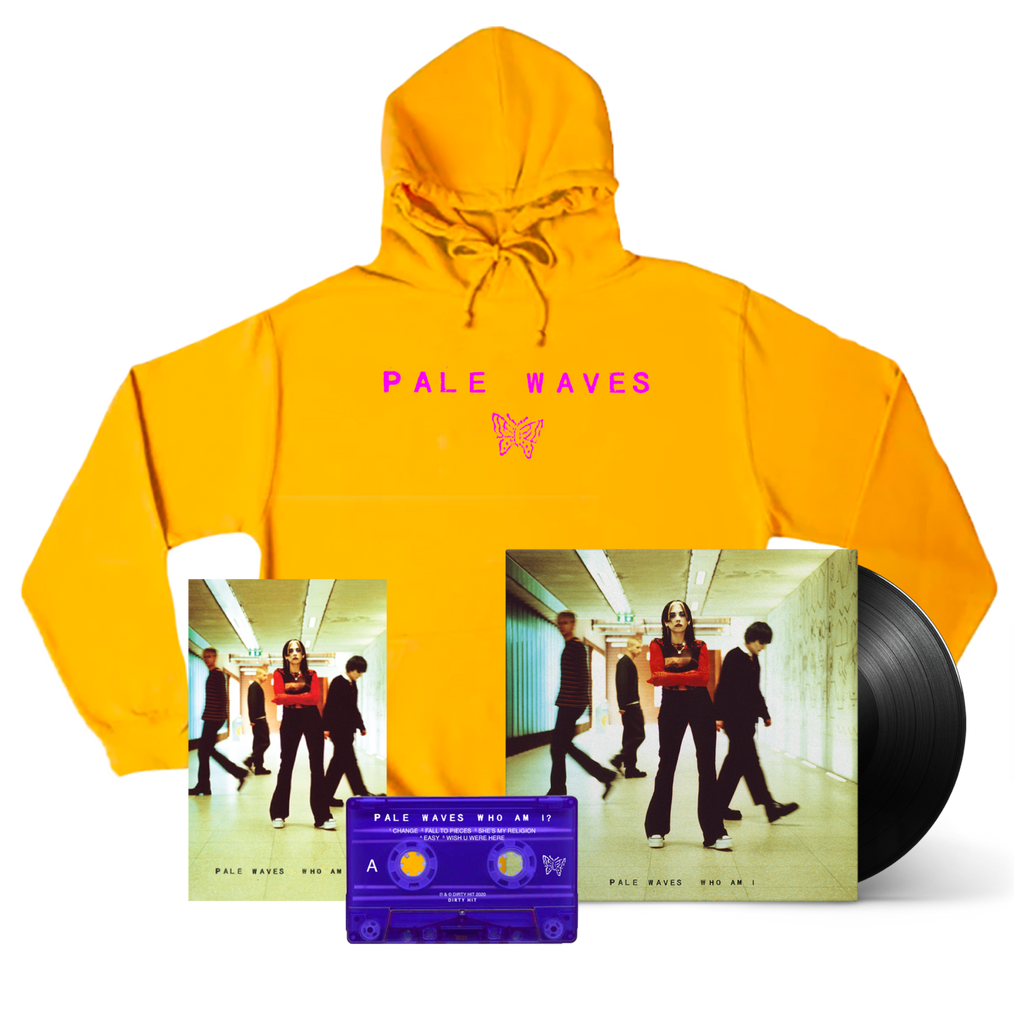 Pale Waves / Who Am I Hoodie Bundle (Signed) ***PRE-ORDER***