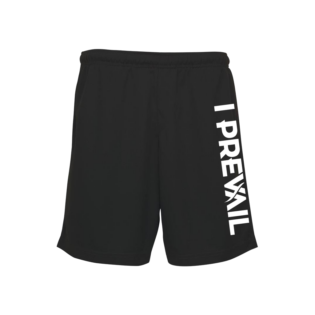 I Prevail Logo / Black Sports Shorts