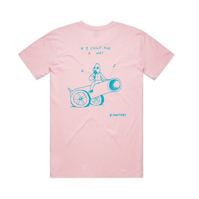 If I could.... / Pink T-shirt
