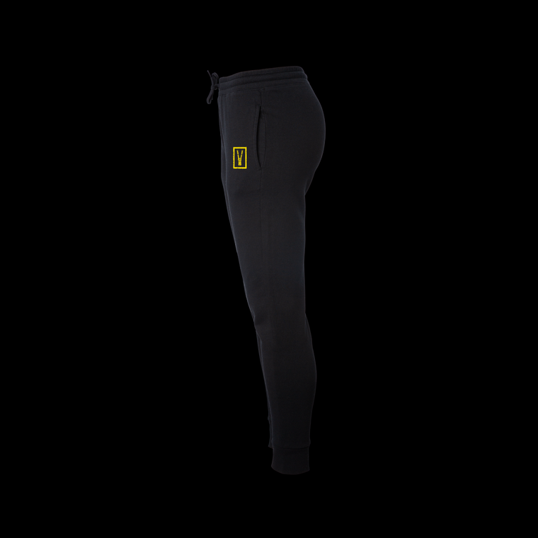 Womens Bolt Cutter Joggers / Black