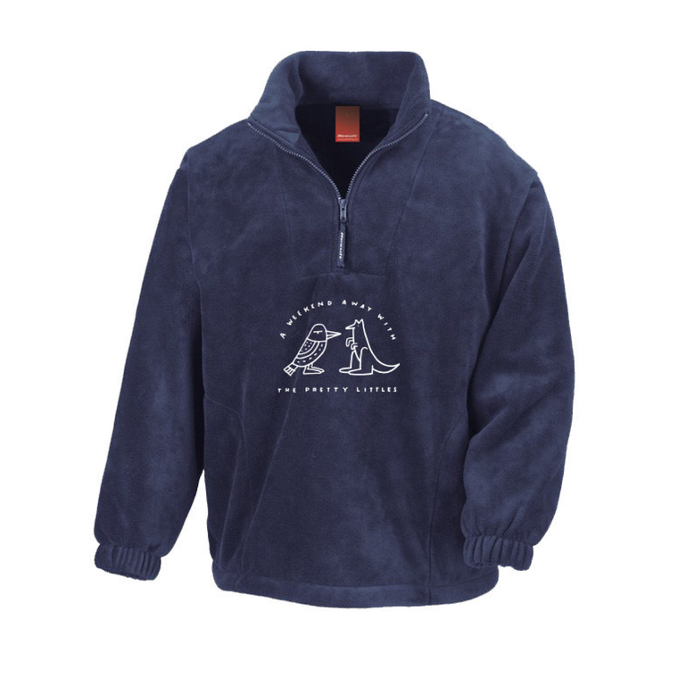 Weekend Away / Navy 1/4 Zip Jumper