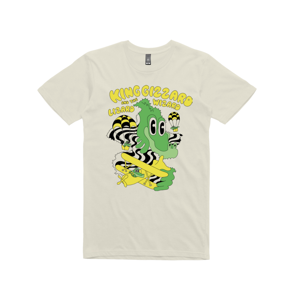 Balloon Dragon / Cream T-shirt