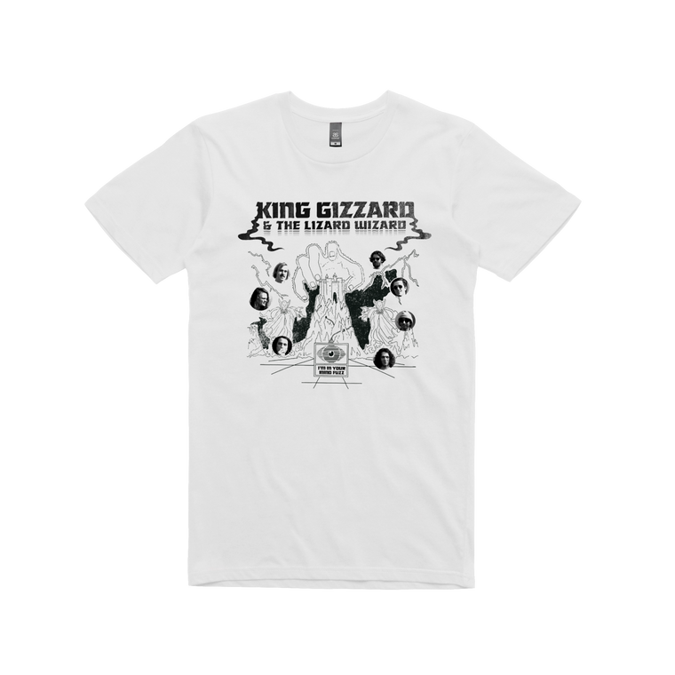 Mind Fuzz  / White T-shirt