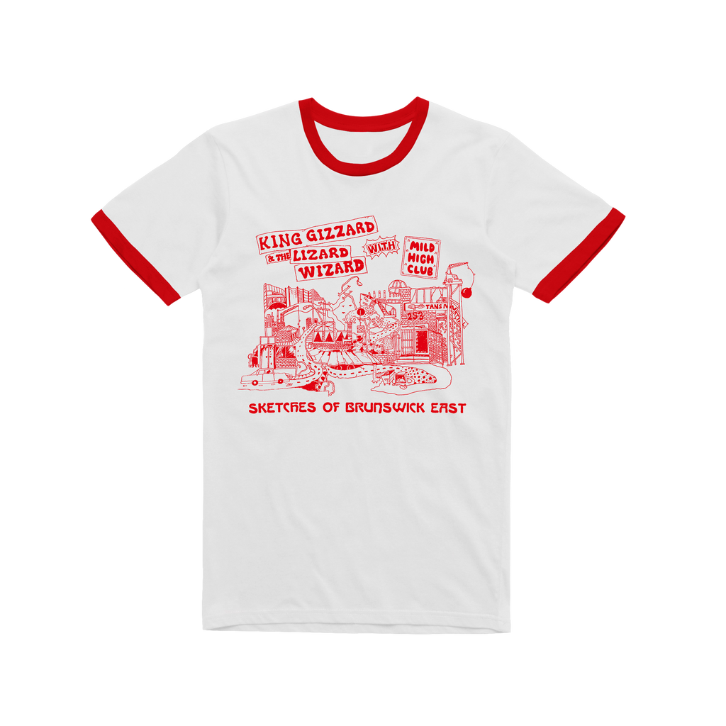 43541ad119 Sketches Of Brunswick / Red Ringer T-shirt