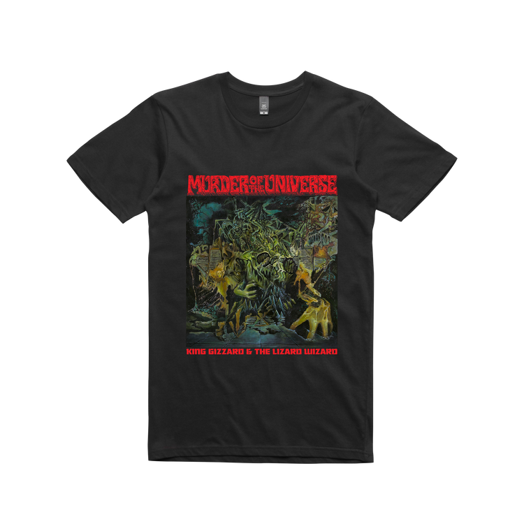 Murder Of The Universe /  Black T-shirt